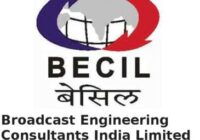 Broadcast Engineering Consultants India Limited Recruitment 2021